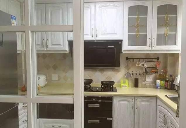 简欧厨房装修效果图