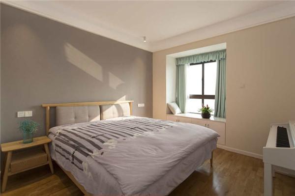 海口3房2厅1卫90平米主卧装修