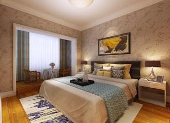 宿州恒大名都三居室简约装修客房设计