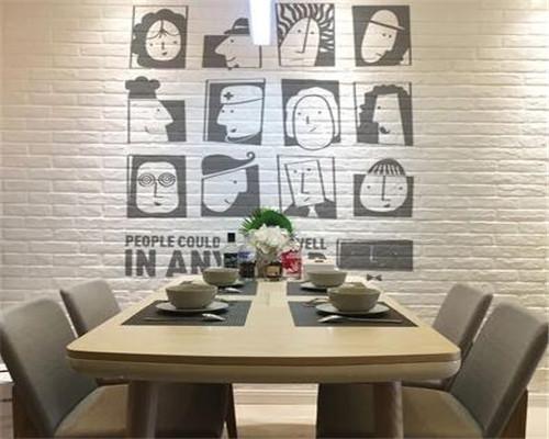 现代简约餐厅装修效果图