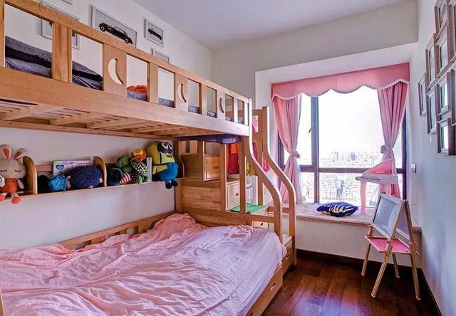 现代中式儿童房装修效果图
