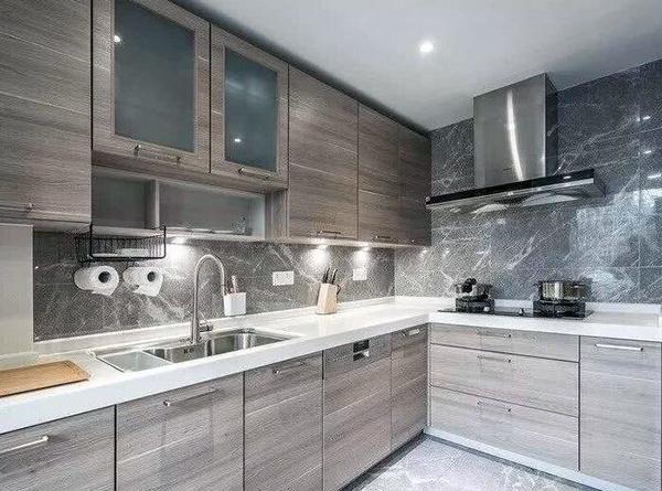 厨房干湿分离效果图