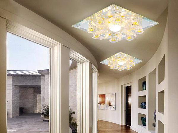 客厅走廊灯怎么安装