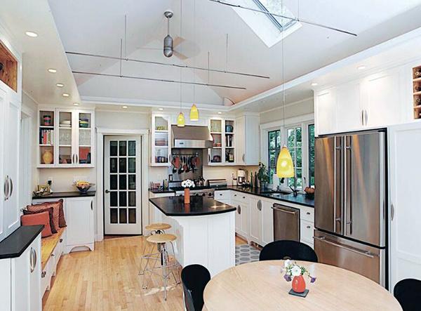 开放式厨房吧台尺寸