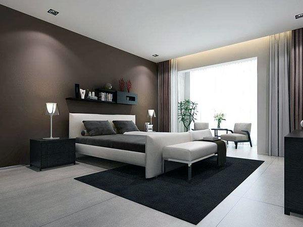 卧室墙漆什么颜色好