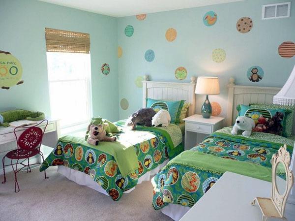 一个卧室改两间儿童房