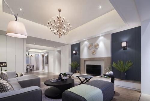 威海环翠小区三室两厅装修新古典风格