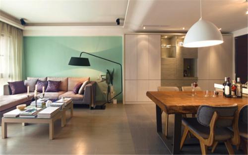威海环翠小区三室两厅装修欧式风格