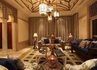威海环翠小区三室两厅装修现代风格