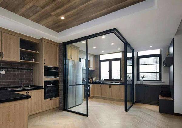 开放式厨房装修风格怎么设计?