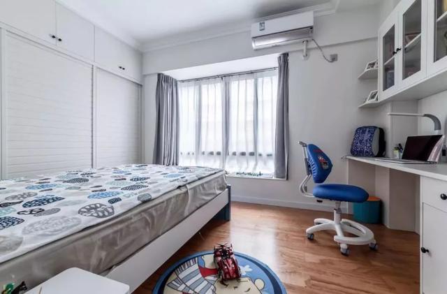 北欧简约风儿童房装修案例