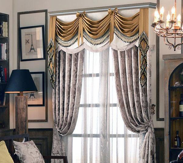 装修窗帘怎么搭配