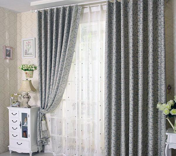 客厅窗帘什么颜色好