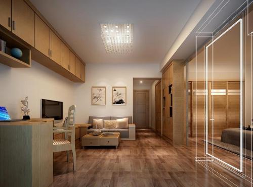 仙桃出租房装修改变室内灯光