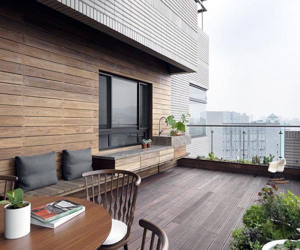露天阳台如何装修