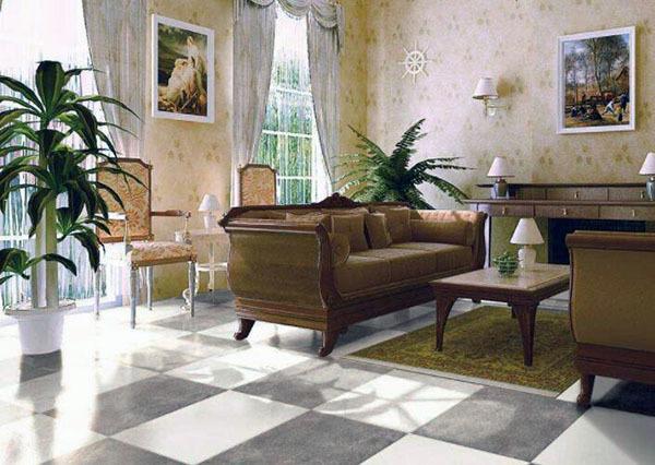 客厅瓷砖哪个牌子好