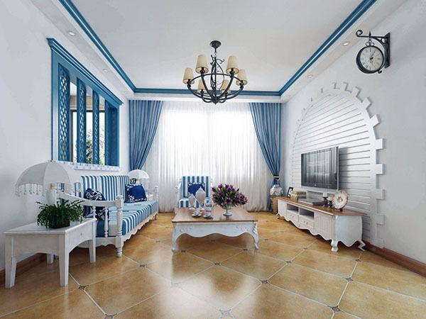 客厅瓷砖怎么铺贴