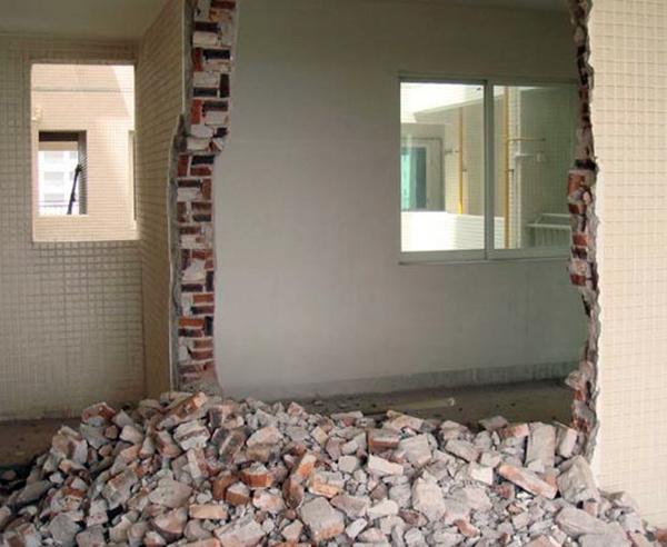 装修第一步之墙体拆除