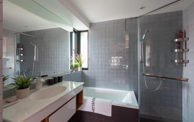 北欧风卫浴室装修案例