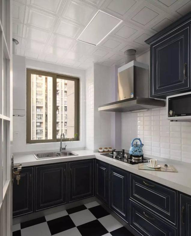 美式風廚房裝修設計