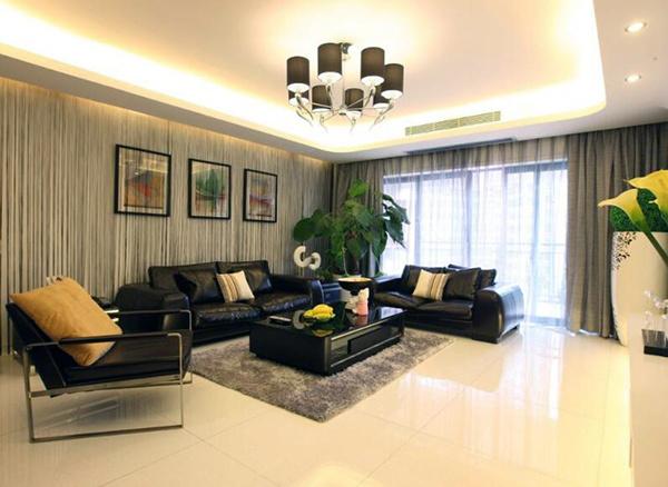 客厅瓷砖为什么油腻腻的