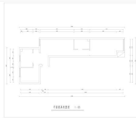 三居室户型图