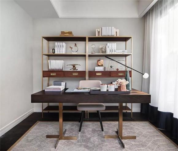 桂林别墅书房装修