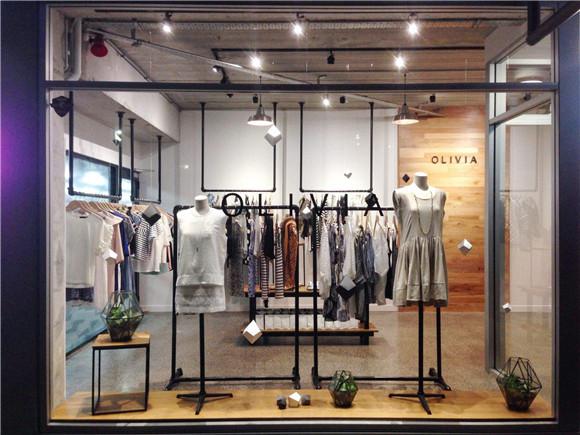 上海服装店装修设计 上海服装店装修效果图