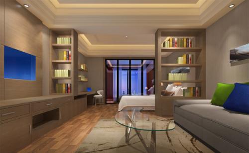 三亚公寓装修现代简约风格