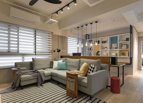 三亚公寓装修设计地中海风格