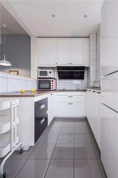 盐城恒大名都90平米装修厨房效果