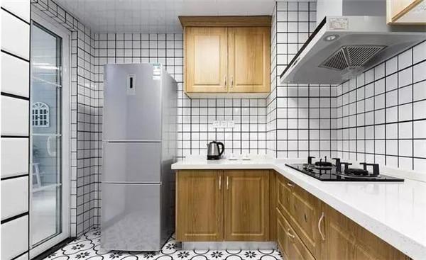 天津83平米小户型装修厨房实景图