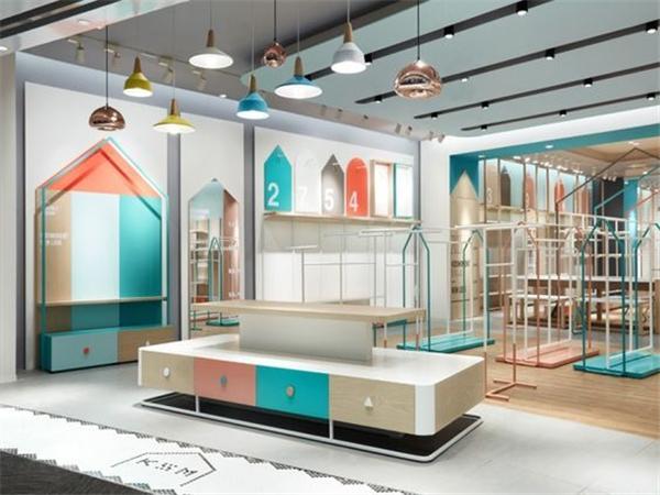 童装店展柜装修设计案例