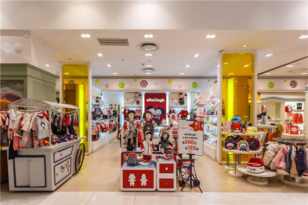 苏州尚艺居装饰童装店装修案例