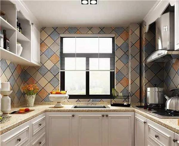 106平米三房两厅装修厨房图