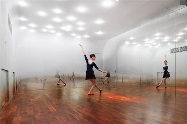 杭州舞蹈房装修效果图