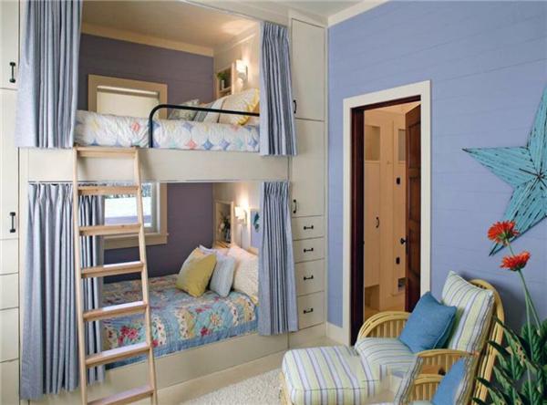 小户型双人儿童房装修设计图 双人儿童房装修注意事项
