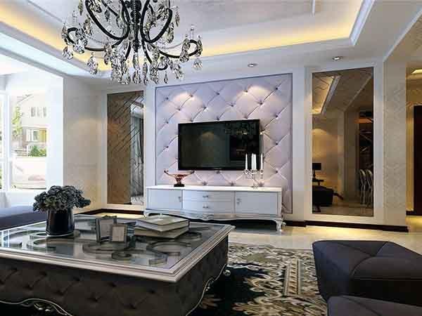 客厅电视背景墙材料哪种好