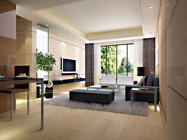 110平米客厅装修效果图