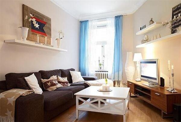 60平米北欧风格公寓装修样板间