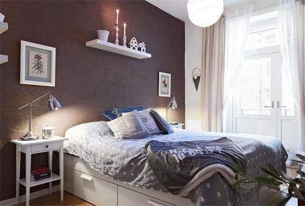 公寓卧室设计效果图