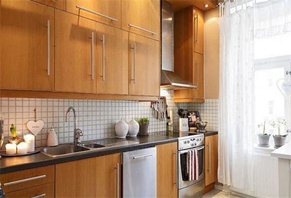 公寓样板间厨房设计效果图