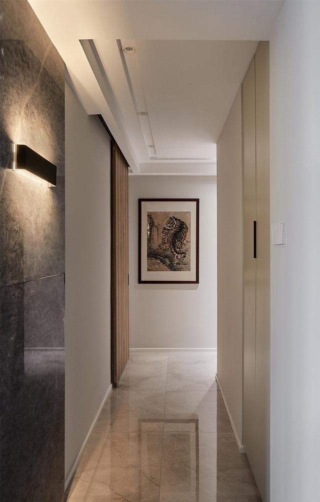 现代风走廊装修设计案例