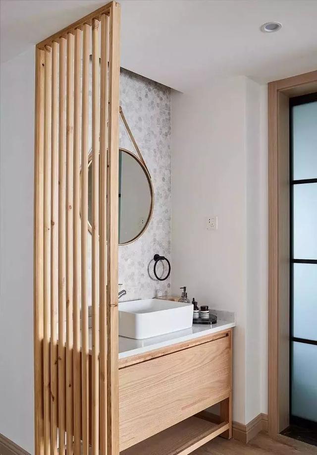 北欧风卫生间装修设计案例