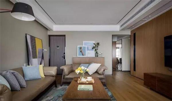 125平米房子装修客厅效果图