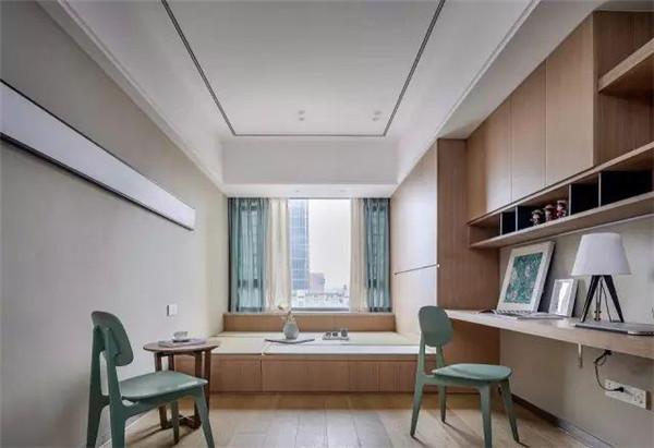 125平米房子装修书房效果图