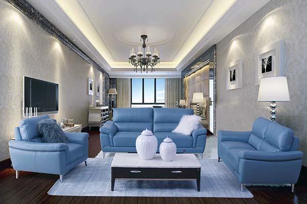 客厅沙发怎么摆放招财