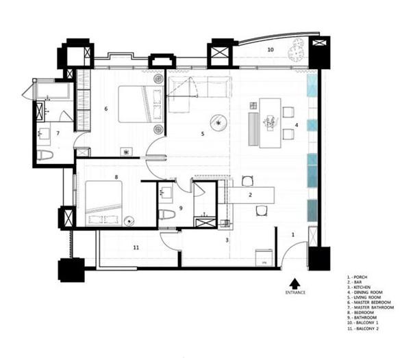 瑞安130平方房子装修价格