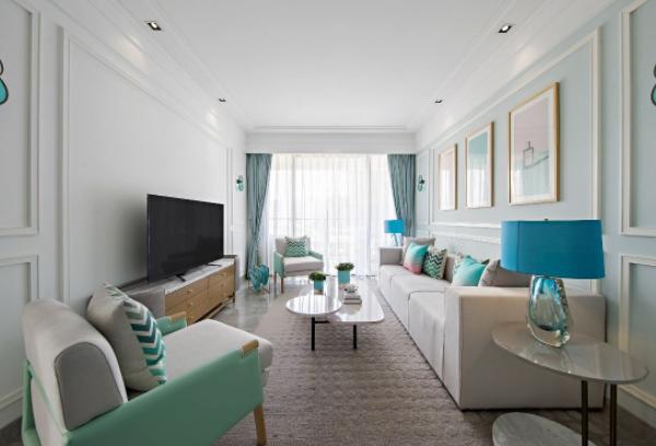 沙发放在客厅哪里好