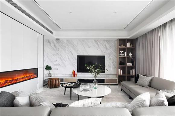大平层客厅装修效果图